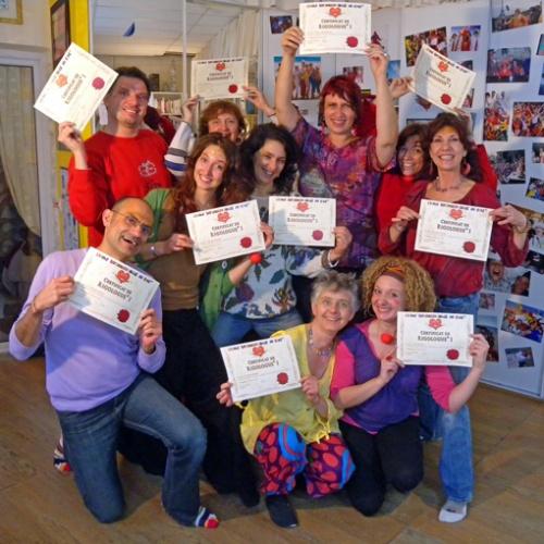 Rigologues certifiés de l'Ecole Internationale du Rire et du Bonheur