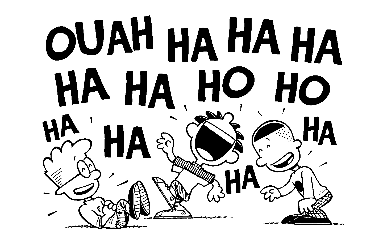 Fou rire à l'école du rire